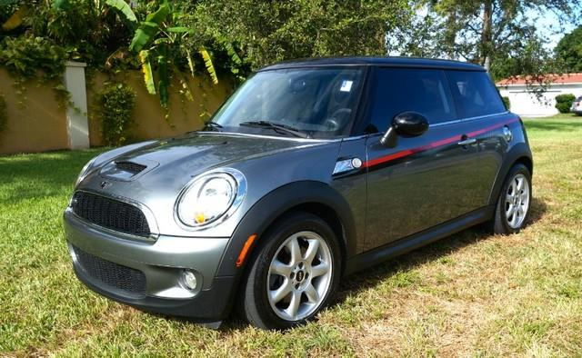 2007 MINI COOPER S 2DR HATCHBACK dark silver metallic imperial capital cars is hollywood floridas