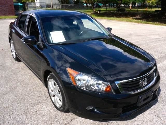 2008 HONDA ACCORD EX-L LOADED PREMIUM PACKAGE nighthawk black pearl imperial capital cars is hol