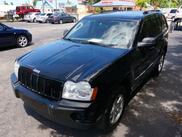 2007 JEEP GRAND CHEROKEE LAREDO 4DR SUV black imperial capital cars is hollywood floridas 1 used