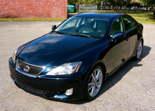2006 LEXUS IS 250 BASE 4DR SEDAN 25L V6 6A black abs - 4-wheel air filtration airbag deactiva
