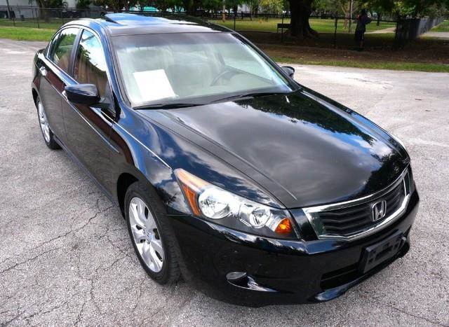 2009 HONDA ACCORD EX-L LEATHER SUNROOF LOADED crystal black pearl welcome to imperial capital c