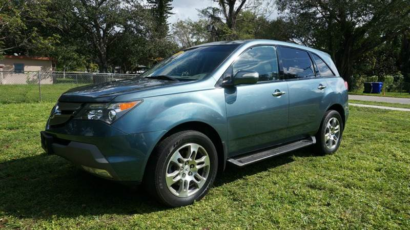 2007 ACURA MDX SH-AWD 4DR SUV blue call 1-754-210-3703 for sales this vehicle fully loaded w