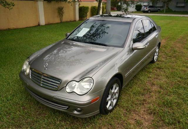 2007 MERCEDES-BENZ C-CLASS C280 LUXURY 4DR SEDAN iridium silver metallic imperial capital cars is
