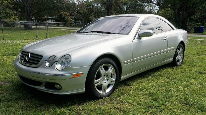 2005 MERCEDES-BENZ CL-CLASS CL500 2DR COUPE silver call 1-754-210-3703 for sales this vehic