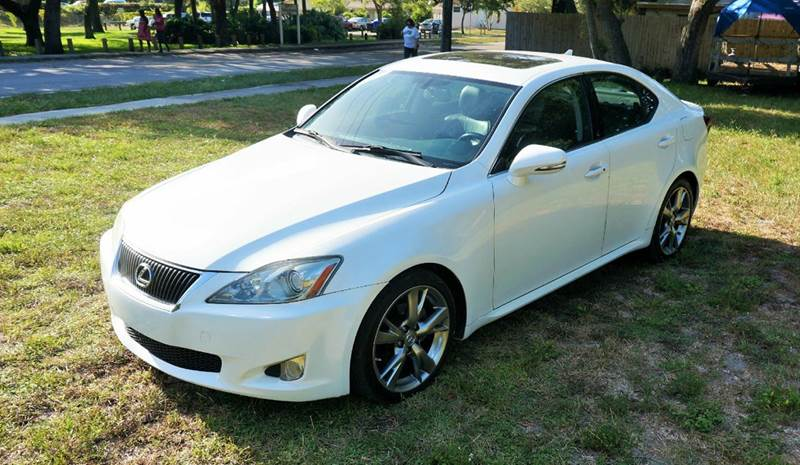 2010 LEXUS IS 250 PREMIUM 4DR SEDAN 6A white 2-stage unlocking abs - 4-wheel air filtration ai
