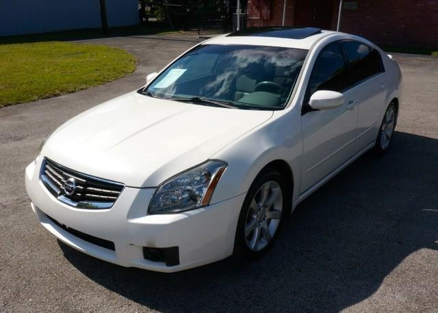 2008 NISSAN MAXIMA 35 SE LOADED ALLOY WHEELS winter frost pearl imperial capital cars inc is h