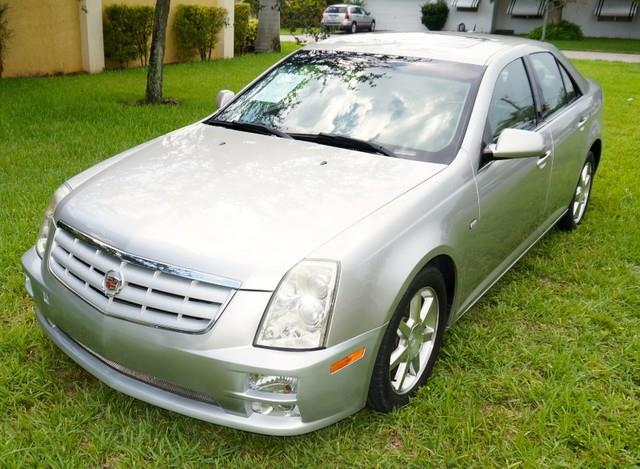 2005 CADILLAC STS BASE RWD 4DR SEDAN silver smoke welcome to imperial capital cars inc one of am
