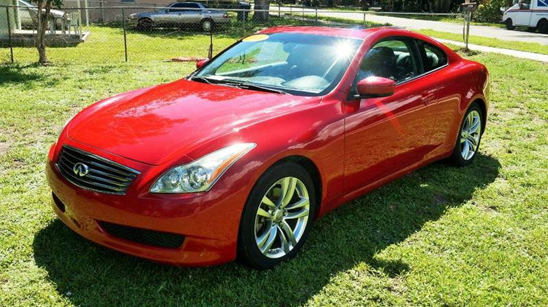 2008 INFINITI G37 JOURNEY 2DR COUPE red abs - 4-wheel airbag deactivation - occupant sensing pas