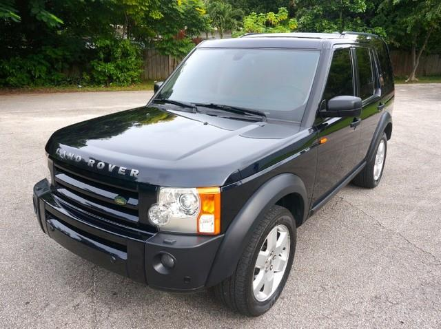 2008 LAND ROVER LR3 HSE 4X4 SUV buckingham blue imperial capital cars is hollywood floridas 1 us