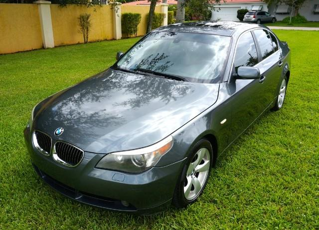 2007 BMW 5 SERIES 530I 4DR SEDAN silver gray metallic thank you for visiting another one of imperi