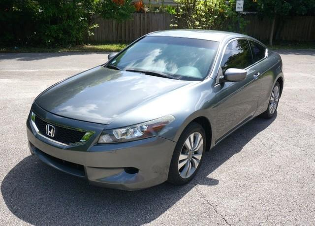 2009 HONDA ACCORD LX-S 2DR COUPE polished metal metallic imperial capital cars is hollywood florid