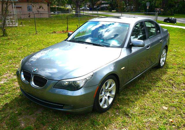 2008 BMW 5 SERIES 535I SEDAN LUXURY gray abs - 4-wheel air filtration - active charcoal airbag