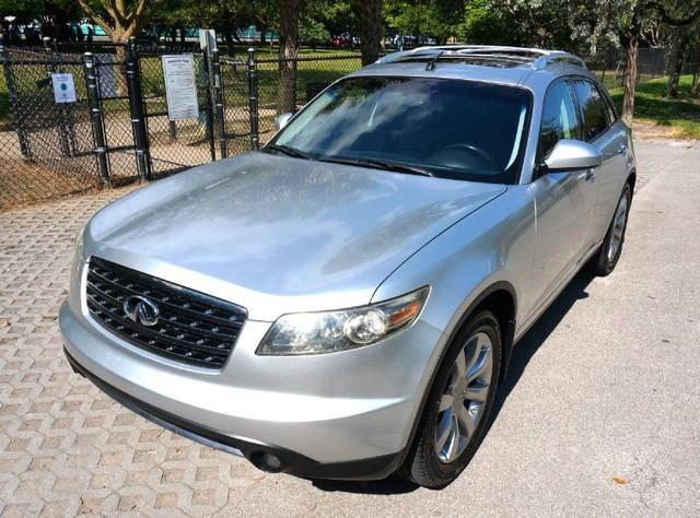 2008 INFINITI FX35 BASE 4DR SUV sheer platinum metallic imperial capital cars is hollywood florida