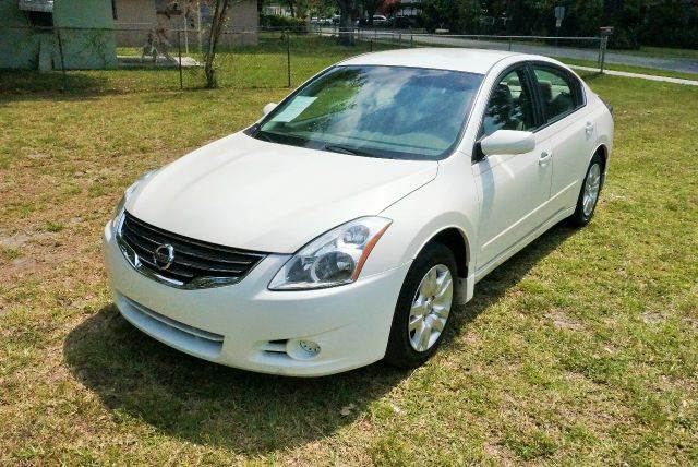 2012 NISSAN ALTIMA 25 S 4DR SEDAN white 2-stage unlocking - remote abs - 4-wheel air filtratio