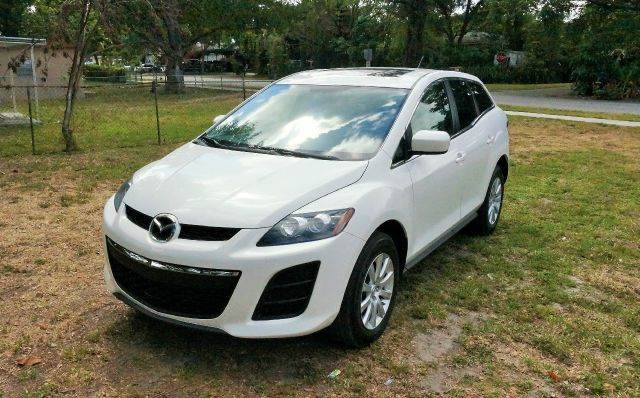 2010 MAZDA CX-7 I SPORT 4DR SUV 2-stage unlocking - remote abs - 4-wheel air filtration airbag