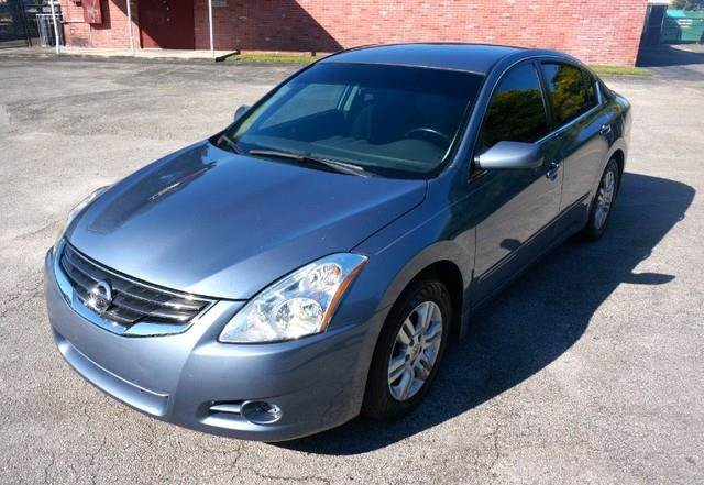 2012 NISSAN ALTIMA 25 S PREMIUM PACKAGE LOW MILE navy blue metallic imperial capital cars is ho