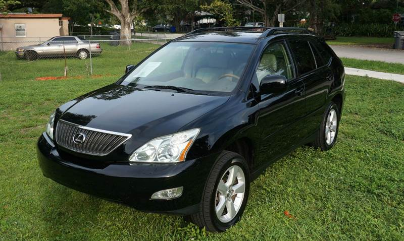 2004 LEXUS RX 330 LUXURY AWD 4DR SUV black call 888-503-0114 for sales  imperial capital ca