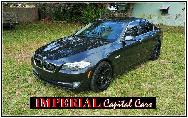 2011 BMW 5 SERIES 535I 4DR SEDAN gray call 888-503-0114 for sales  imperial capital cars is pr