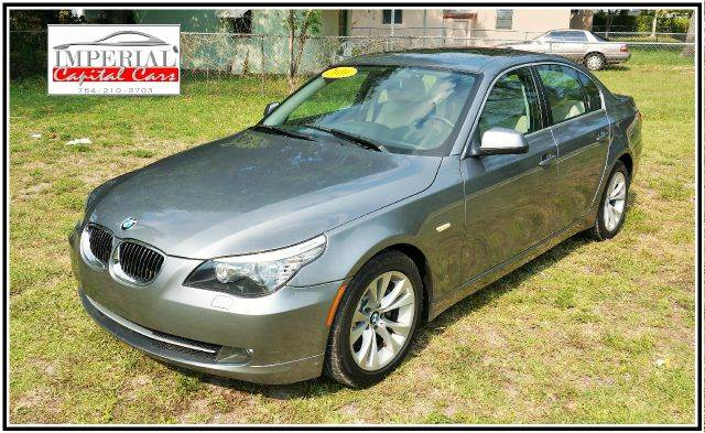 2010 BMW 5 SERIES 535I 4DR SEDAN gray 2-stage unlocking - remote abs - 4-wheel air filtration -