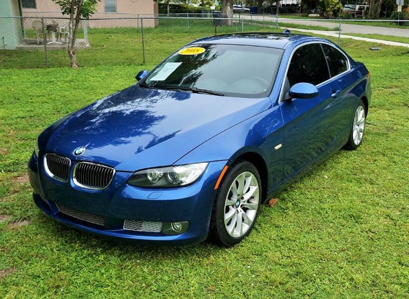 2008 BMW 3 SERIES 335XI AWD 2DR COUPE blue call 1-754-210-3703 for sales this vehicle fully