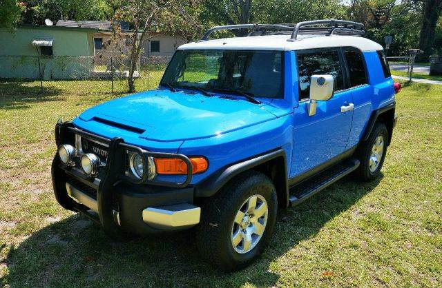 2007 TOYOTA FJ CRUISER BASE 4DR SUV 4WD 4L V6 5A bluewhite 2-stage unlocking 4wd type - part