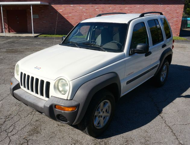 2004 JEEP LIBERTY SPORT 4DR SUV white axle ratio - 410 center console clock front airbags - du