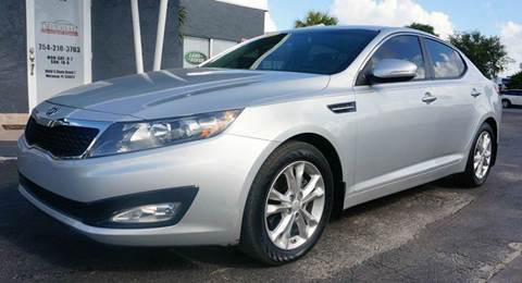 2012 Kia Optima for sale in Miramar, FL