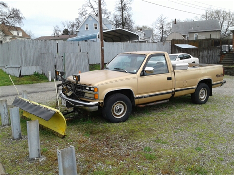 1989 Chevrolet CK 1500 Series For Sale  Carsforsalecom