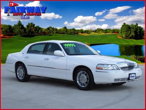 2009 Lincoln Town Car for sale in Tyler, TX