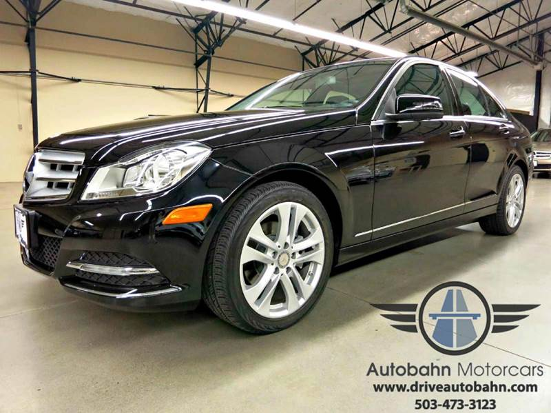 2012 mercedes benz c class c300w 4matic awd sedan in for Mercedes benz portland