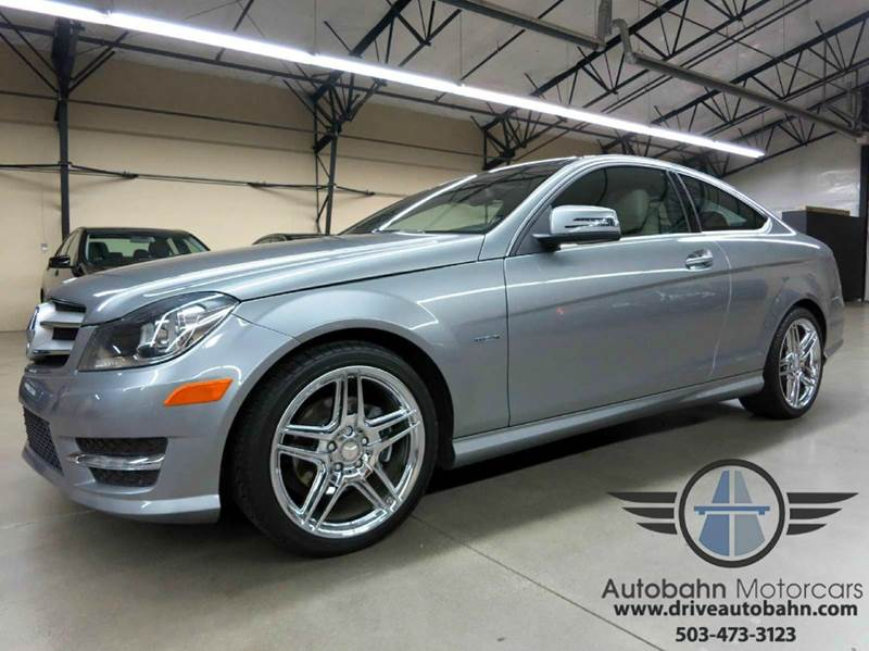 2012 mercedes benz c class c250 coupe in portland or for Mercedes benz portland