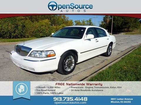 2007 Lincoln Town Car for sale in Mission, KS