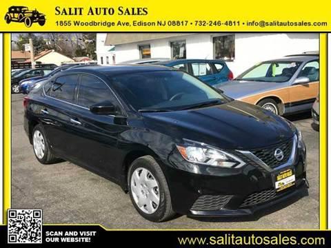 2016 Nissan Sentra for sale in Edison, NJ