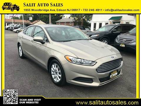 2015 Ford Fusion for sale in Edison, NJ