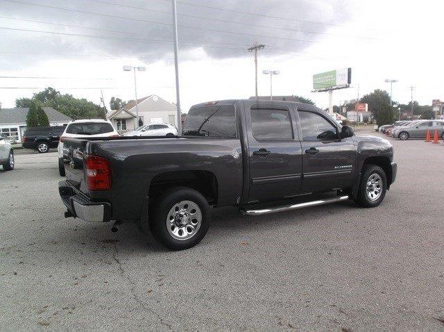 2010 Chevrolet Silverado 1500 Ls 4x2 4dr Crew Cab 5 8 Ft Sb In Florissant Mo Olympic Motor Co