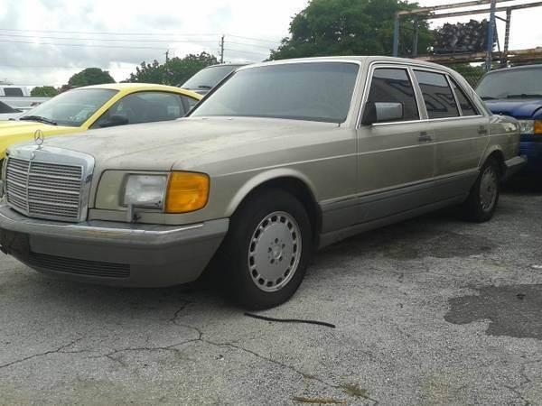 1986 Mercedes-Benz 420-Class