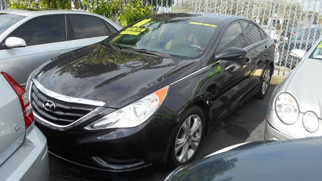 2011 HYUNDAI SONATA GLS AUTO blue     good credit  ok    bad credit  d