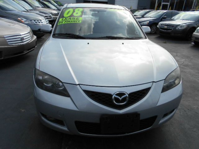 2008 MAZDA 3 I SPORT 4-DOOR silver clean mazda3 sport great condition and carfax certified all o