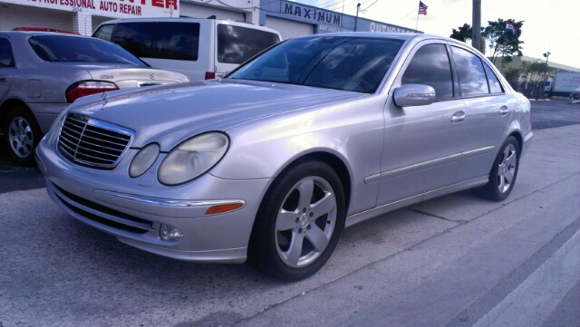2004 MERCEDES-BENZ E-CLASS E500 silver clk coupe 500 enough said high performance luxury ride a