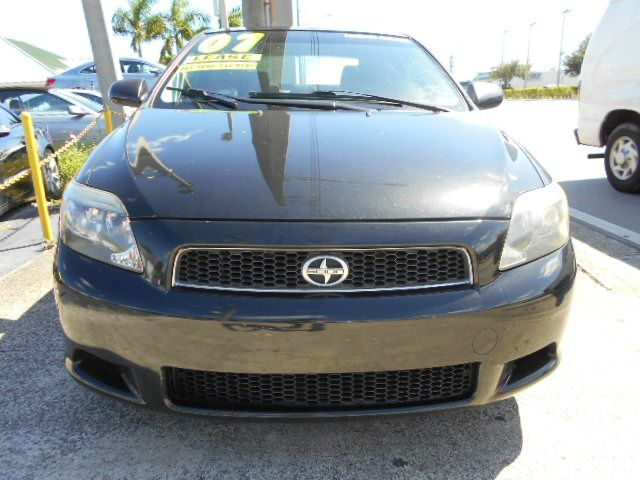 2007 SCION TC SPORT COUPE blk beautiful scion tc with manual transmission in beautiful condition
