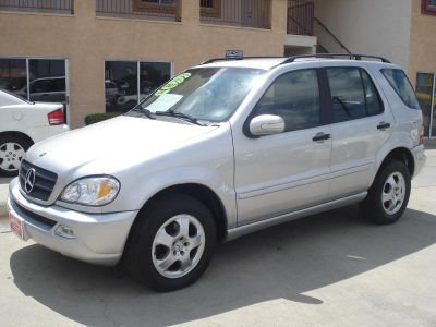 2004 MERCEDES-BENZ M-CLASS ML350 silver for more info call 866-297-4031 4wdawdabs brakesair con