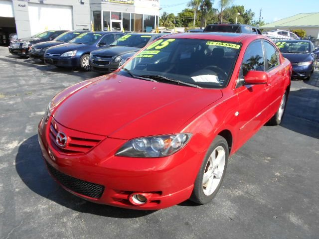 2004 MAZDA 3 S 4-DOOR red stop shopping and come buy the car that fits you best here at auto world