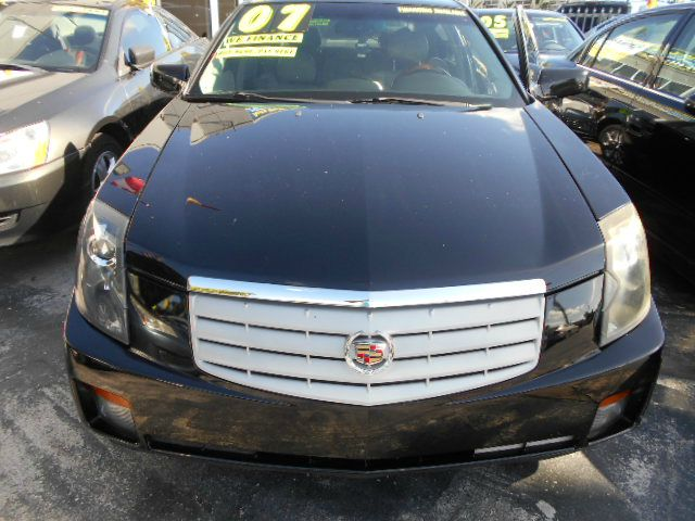 2007 CADILLAC CTS 36L blk low mileage pristine condition cts blk on blk combo loaded with sport