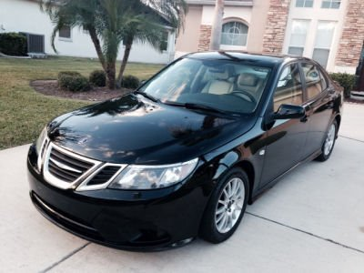 2008 SAAB 9-3 20T black this is a very rare luxurious car you must see this sabb fully loaded po