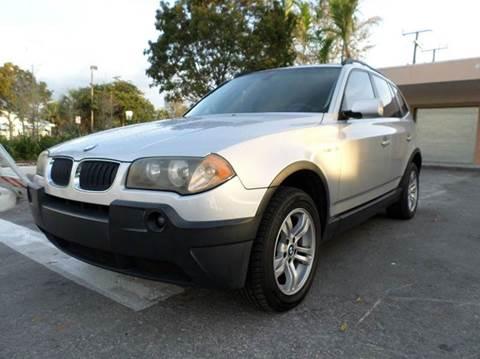 2005 BMW X3 for sale in Plantation, FL