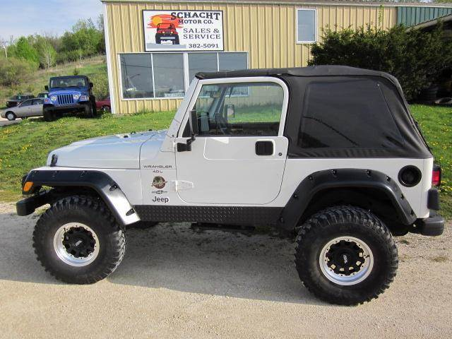 2000 Jeep Wrangler Sahara In Decorah Ia Schacht Motor Co