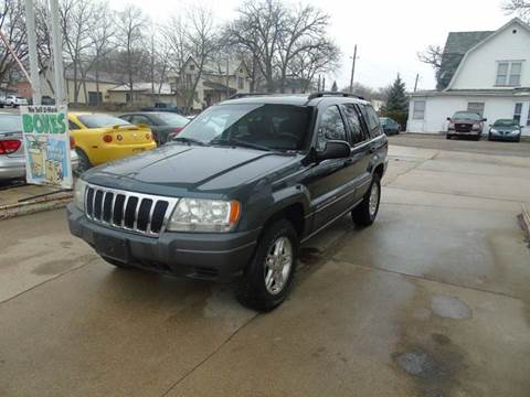 2002 Jeep Grand Cherokee for sale in Charles City, IA
