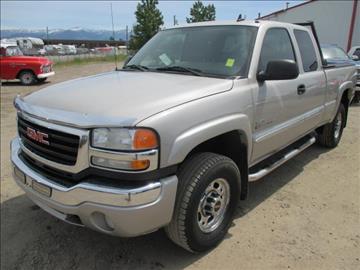 Gmc Sierra 2500 For Sale Montana