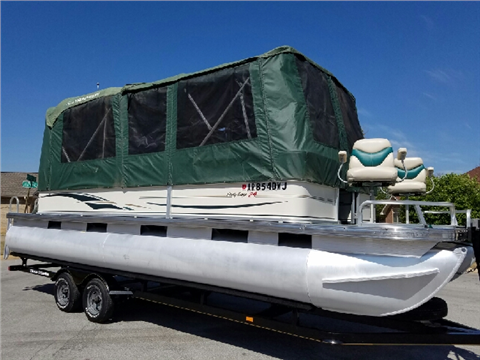 2005 Sun Tracker Signature Party Barge 24 for sale in Lowell, AR