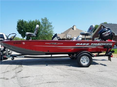 2014 Bass Tracker Pro Team 175 TXW for sale in Lowell, AR